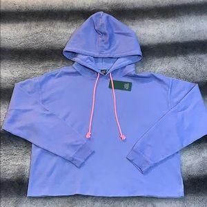 wild fable Tops - Women's Fleece Cropped hoodie